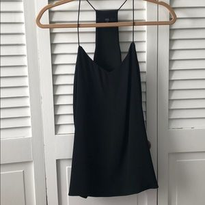 Tibi size 4 silk camisole, lined
